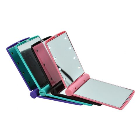 Hot-Selling factory price pocket led lighted makeup mirror